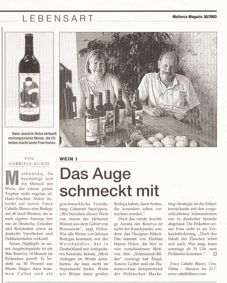 Mallorca Magazin - 07.2003