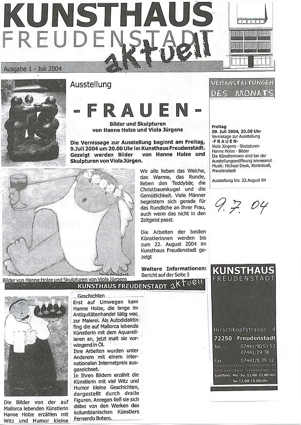 Kunsthaus Freudenstadt - 07.2004